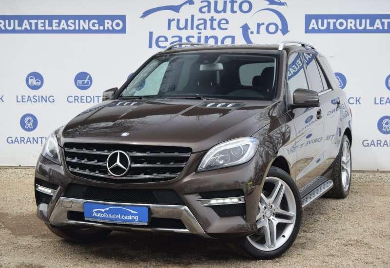 Cumpara Mercedes-Benz ML 350 2013 cu 179,081 kilometrii  cu garantie 12 luni  posibilitate leasing