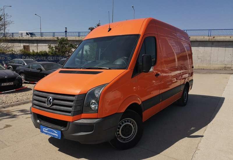 Cumpara Volkswagen Crafter 2012 cu 82,200 kilometrii  cu garantie 12 luni  posibilitate leasing